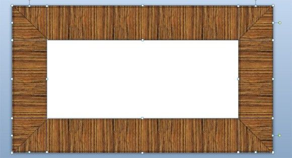 How to Make a Wooded Frame in PowerPoint 2010