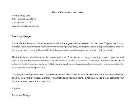 Letter of Recommendation for Employment – 7+ Free Word, Excel, PDF ...