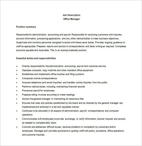 20+ Sample Dental Office Manager Resume | Micosoft Office 2003 ...