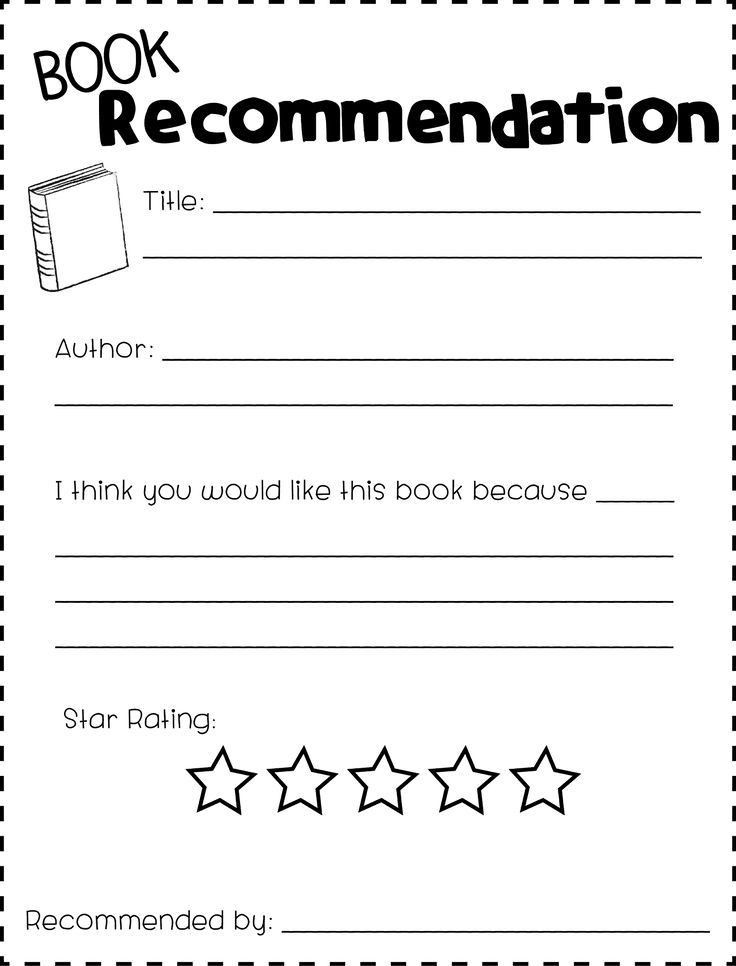 Best 25+ Book recommendation form ideas only on Pinterest ...