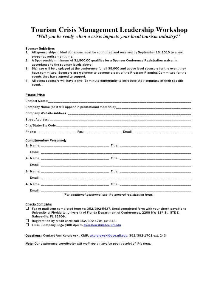 Microsoft Word - Sponsor Form
