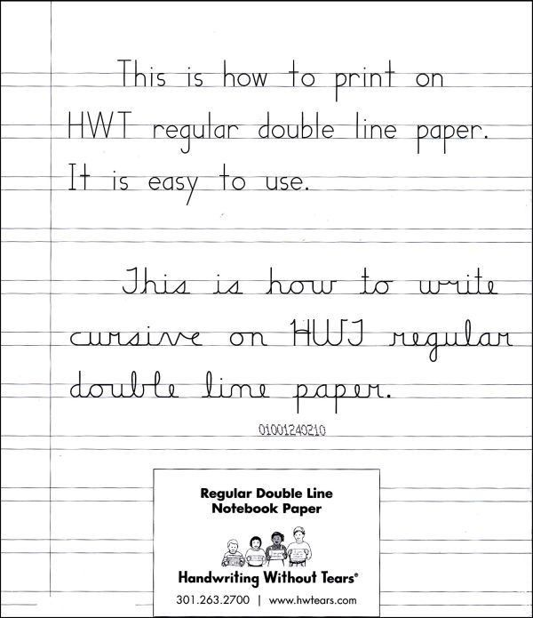 Regular Double Line Notebook Paper (ream) (007657) Details ...