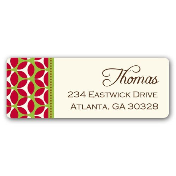 Christmas Address Labels – Happy Holidays!