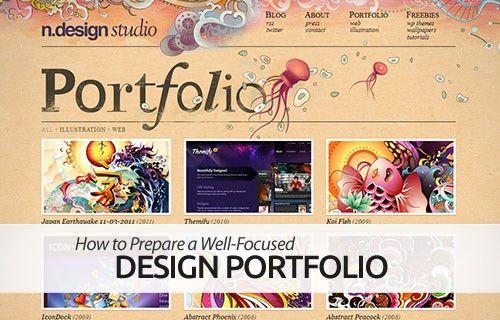 How to Prepare a Well-Focused Graphic Design Portfolio | InstantShift