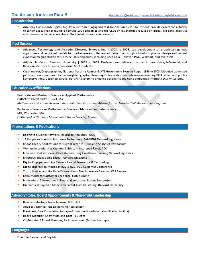 CMO Resume / Chief Marketing Officer Resume Samples | CDO Resumes ...