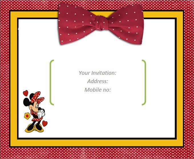 Plain Invitation Templates. blank invitation templates free for ...