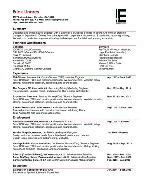 Download Post Production Engineer Sample Resume ...