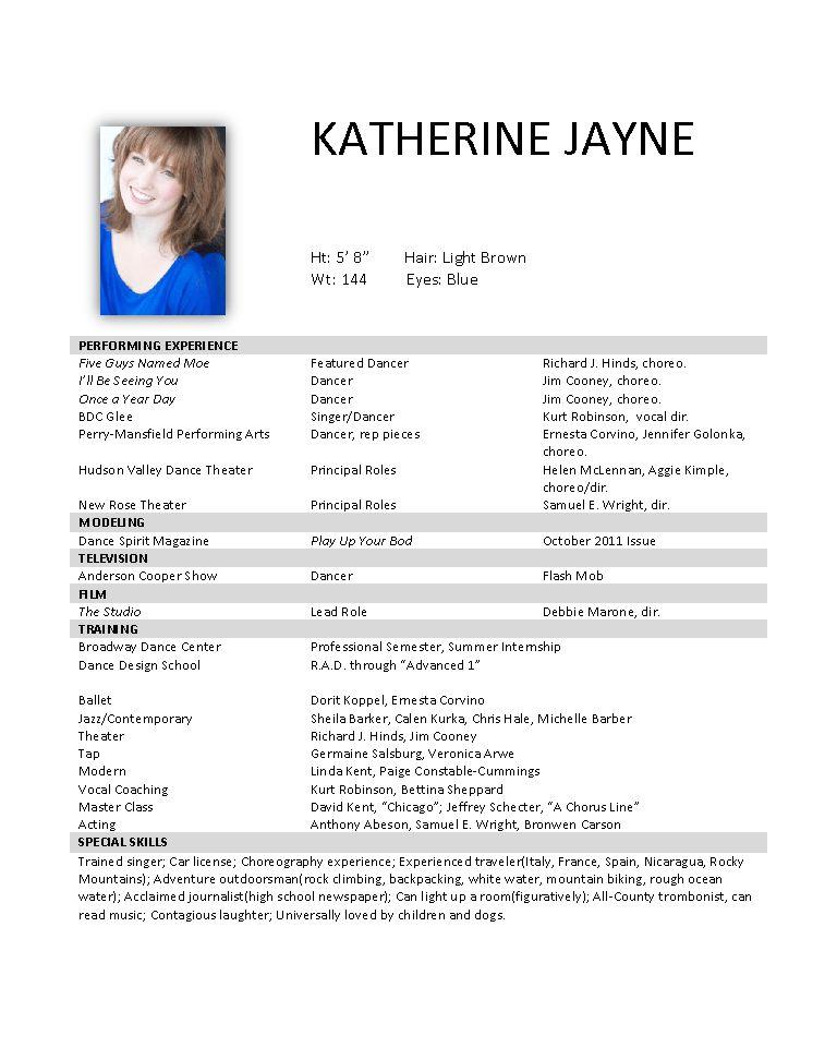 Katherine Jayne | Resume