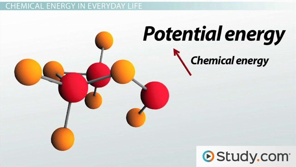 What is Chemical Energy? - Definition & Examples - Video & Lesson ...