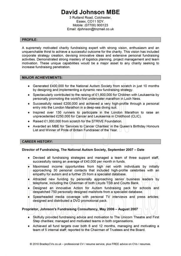 Resume : Cv For Investment Banking Cv For Purchase Manager Cover ...