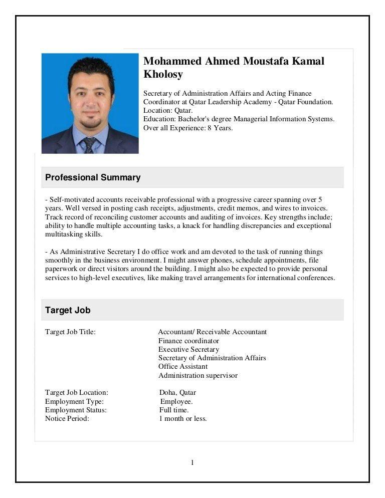 My Resume Final