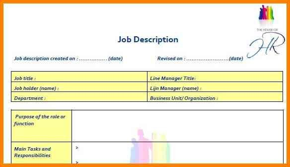 8+ best job description template | cashier resumes