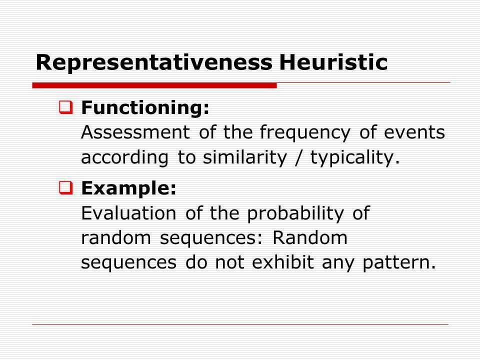 Probability Judgments: Overview I  Heuristics and Basis ...