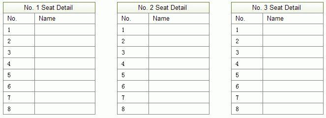 Seating Plan Software