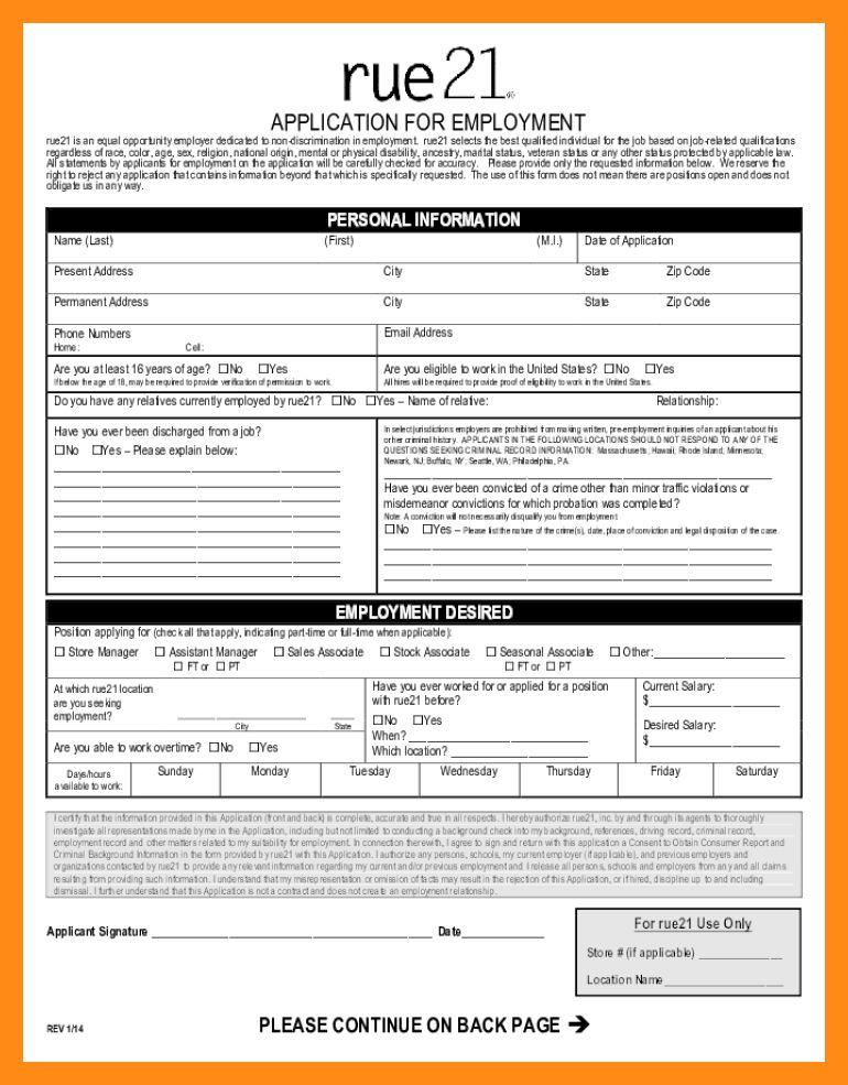 5+ job application form pdf | actor resumed