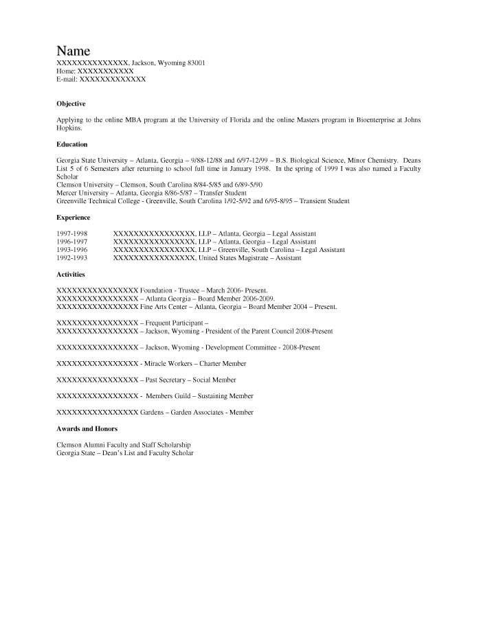 Student Resume Samples - Resume Prime