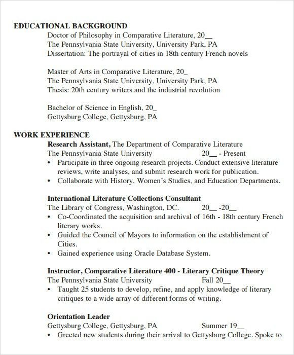 Student Resume Template. Student Cv Template Word Sample Student ...
