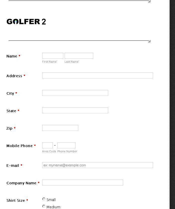 My form has four sets of required fields, how to make the form ...