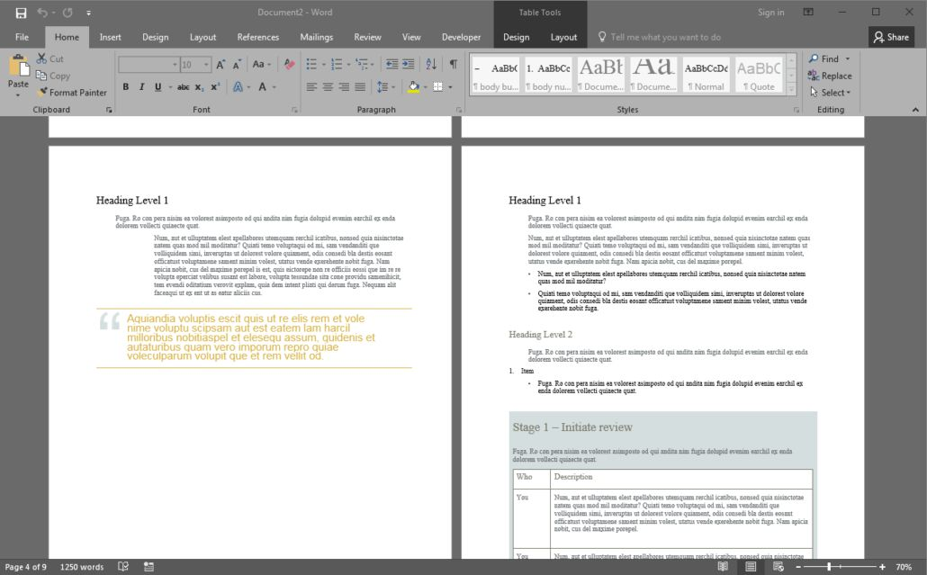 Microsoft Word Designs and Security | iDomain Pty Ltd Australia
