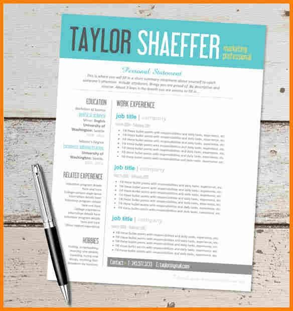 9+ free creative resume templates microsoft word | budget template
