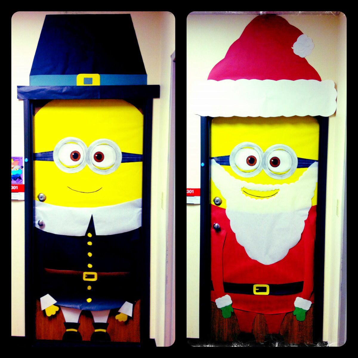 1000 images about christmas door covers on pinterest for Door decoration xmas