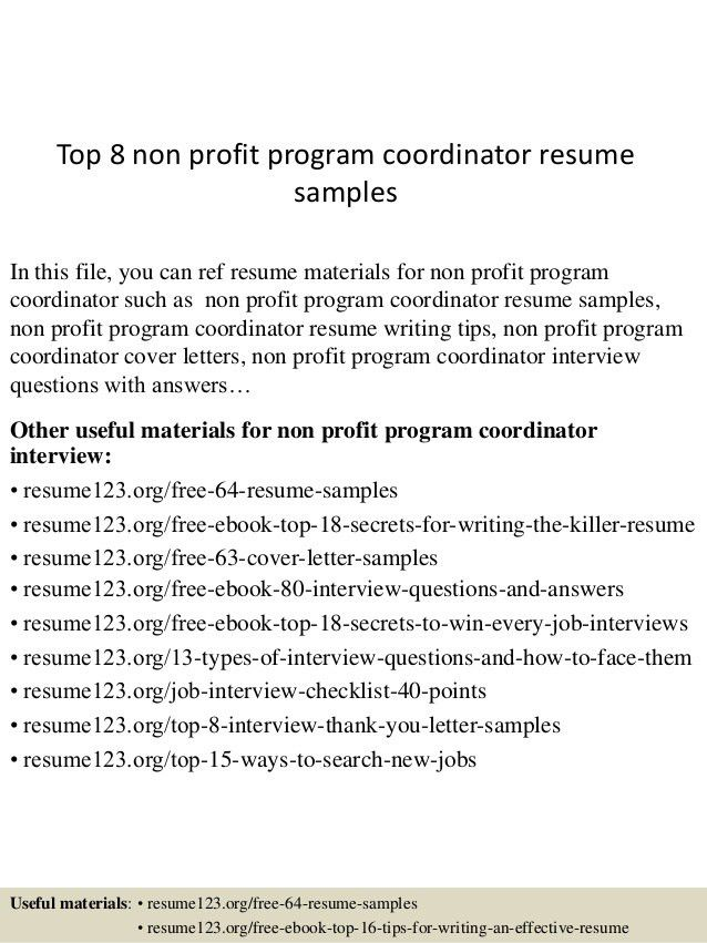 top-8-non-profit-program-coordinator-resume-samples-1-638.jpg?cb=1434168517