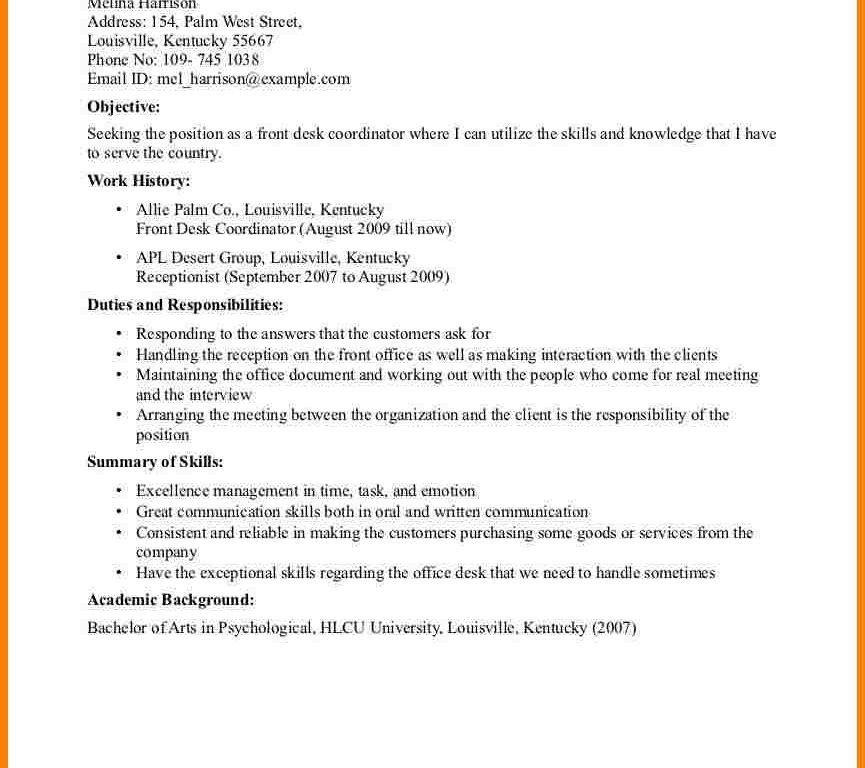 Luxury Ideas Medical Front Desk Resume 9 Office Assistant Resumes ...