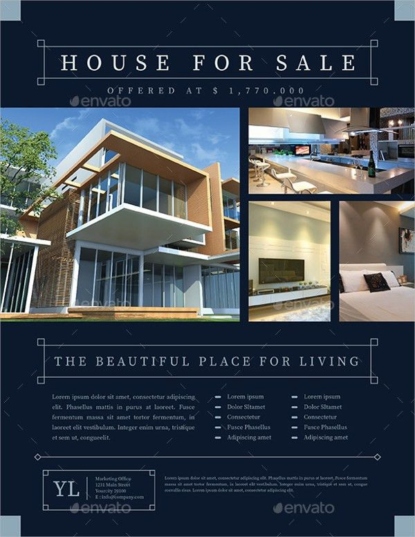20+ Real Estate Flyer Templates - Free PSD, AI, EPS Format ...
