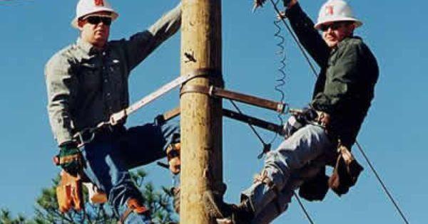 Powerline Technician | Apprenticeship | Pinterest