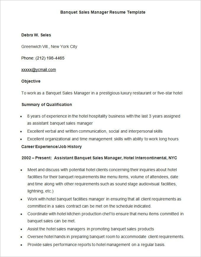 Free Ms Word Resume Templates