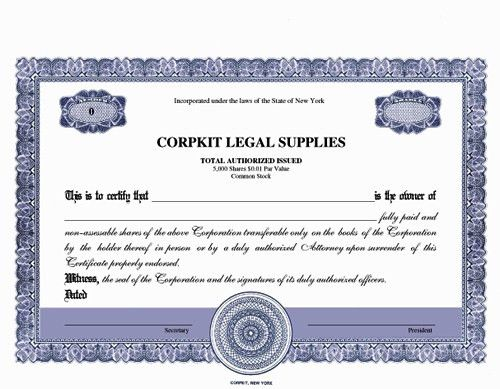 E-kit electronic certificates