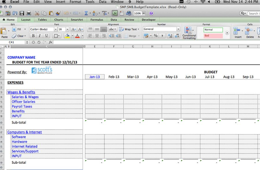 Business Budget Template: Use This Free Template for Your Business