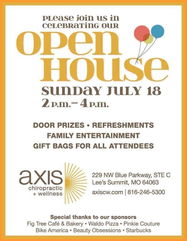 Open House Flyer Template Free   Template Design