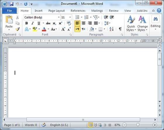 microsoft word 2010 document templates