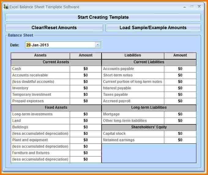 Balance sheet format   Authorization Letter Pdf