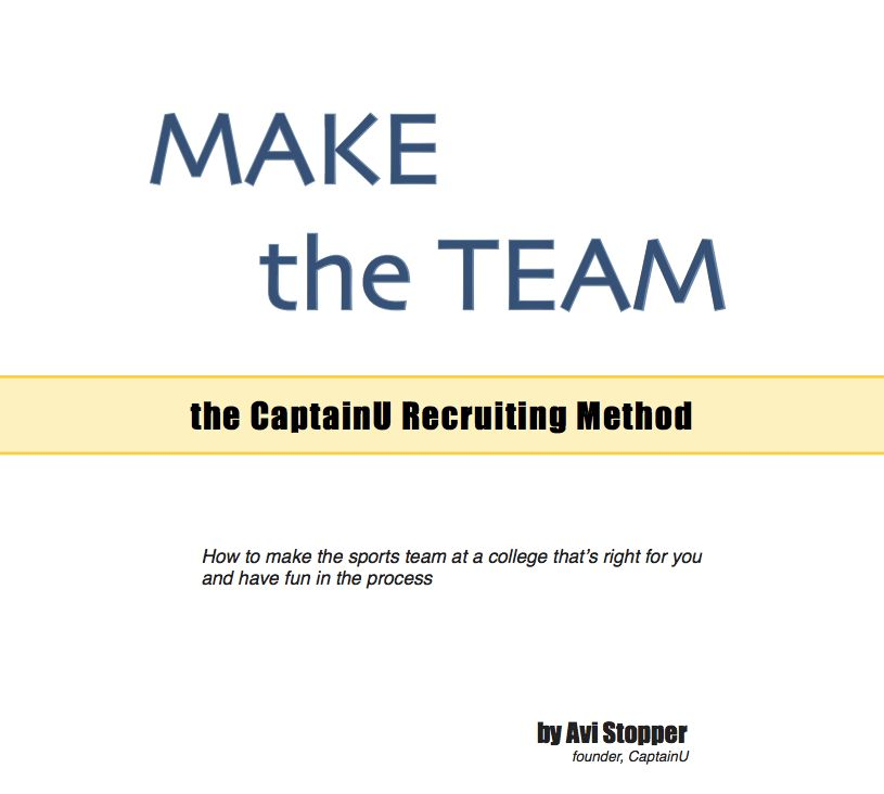 CaptainU Recruiting: Writing a cover letter to college coaches ...