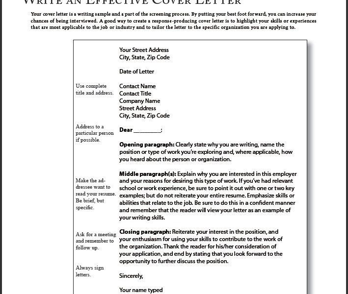 Very Good Cover Letter 1 A Example. - uxhandy.com