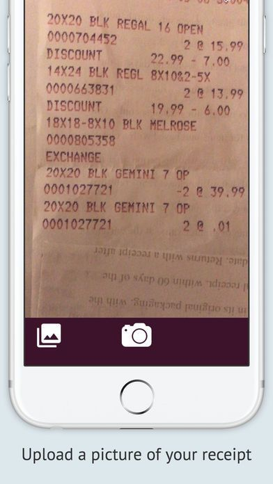 Receipts - simple save for expenses & tax on the App Store