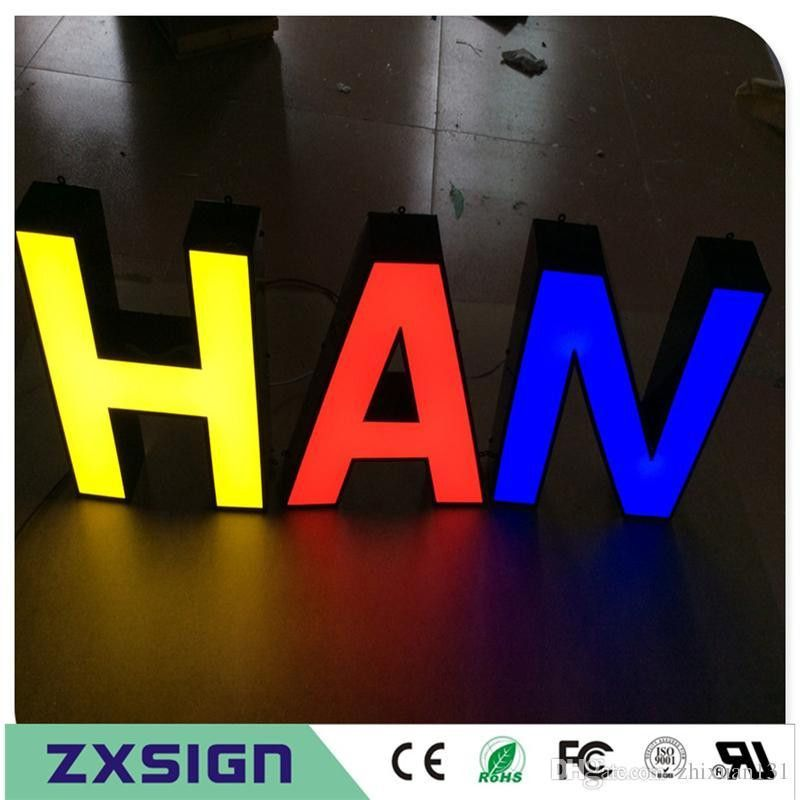 Factory Outlet Outdoor Advertising front Lit Acrylic Light Box ...