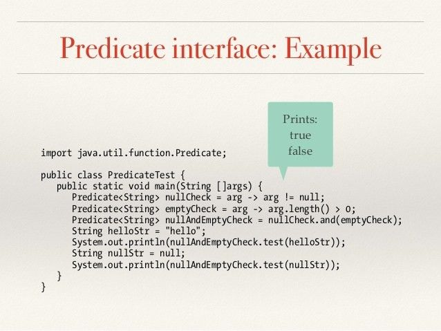 Java 8 Lambda Built-in Functional Interfaces