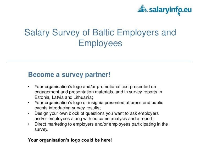Salary surveys presentation