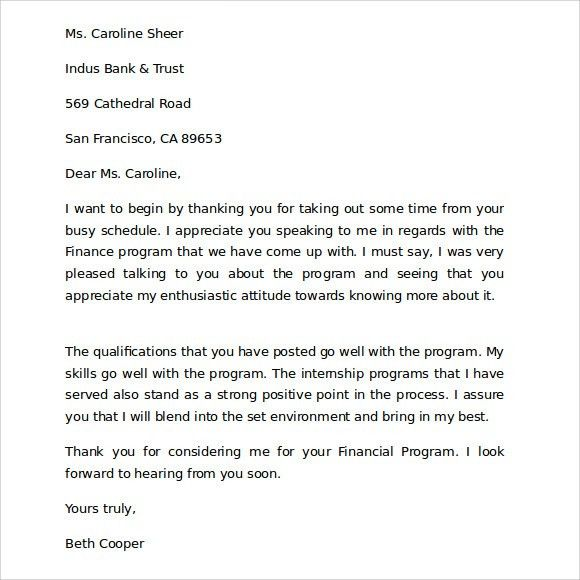 Sample Thank You for Your Business Letter - 9+ Documents in PDF, Word