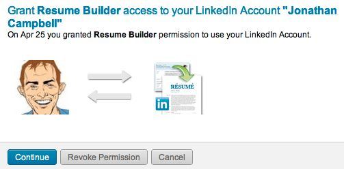 How to: Create a CV in 30 Seconds Using Your LinkedIn Profile ...