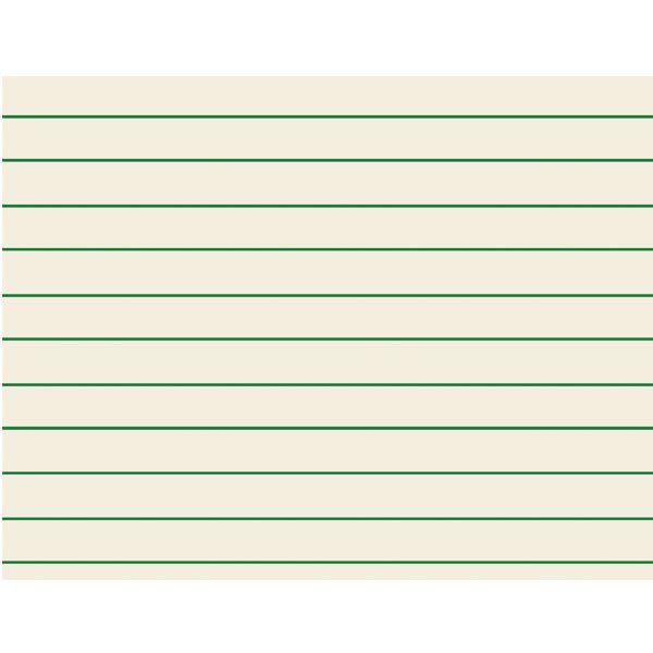 MaxiAids | Green Bold Lined Paper for Students: 11 x 8.5 Inches ...