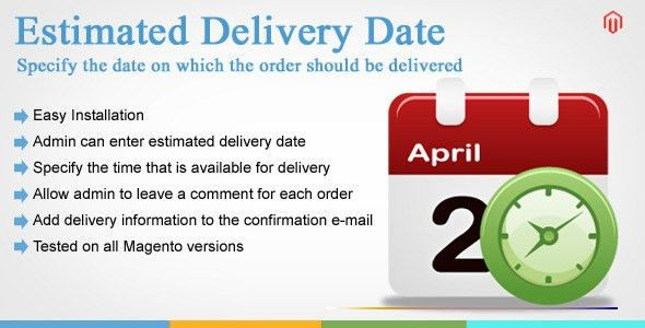 Expected delivery date