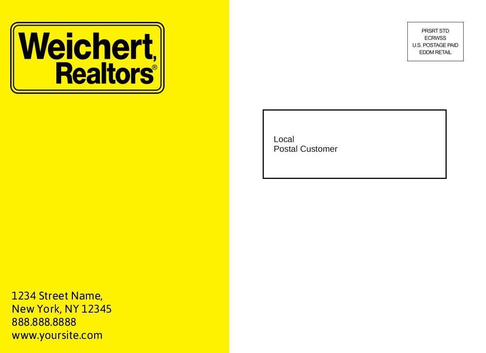 EDDM Postcards for Weichert Real Estate