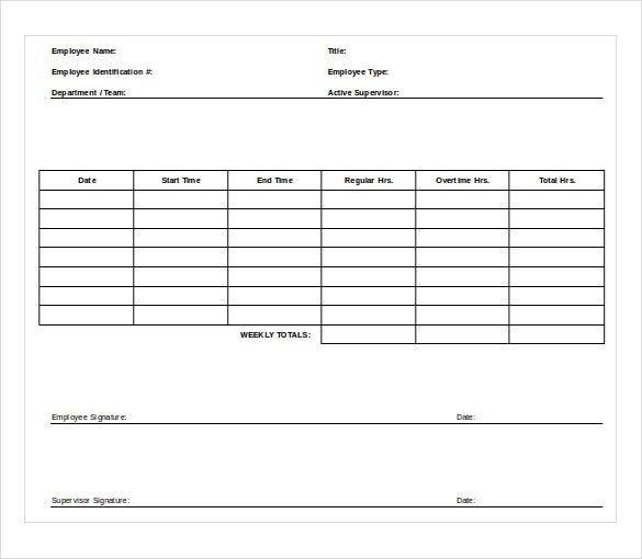 10+ Worksheet Templates Free Download MS Word 2010 Format | Free ...