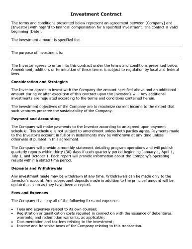 Contract Designs – Wasif Ahmed
