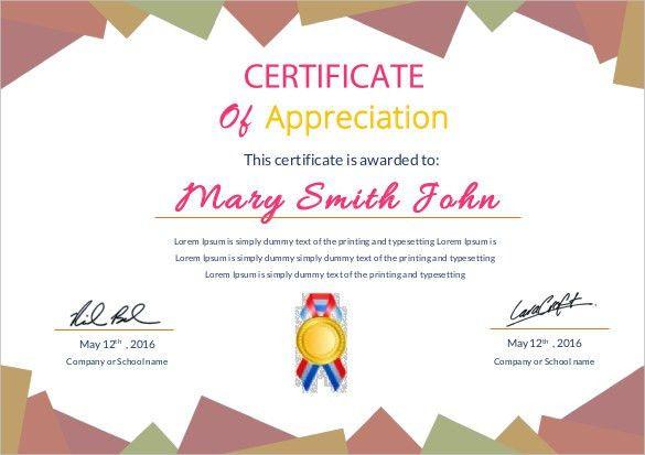 Free Certificate Template – 46+ Adobe Illustrator Documents ...