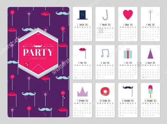 21+ Birthday Calendar Templates - Free Sample, Example, Format ...